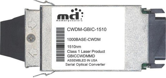 Cisco GBIC Transceivers CWDM-GBIC-1510 (100% Cisco Compatible) GBIC Transceiver Module
