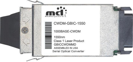 Cisco GBIC Transceivers CWDM-GBIC-1550 (100% Cisco Compatible) GBIC Transceiver Module