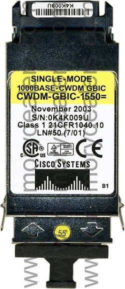 Cisco GBIC Transceivers CWDM-GBIC-1550 (Cisco Original) GBIC Transceiver Module
