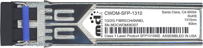 Cisco SFP Transceivers CWDM-SFP-1310 (100% Cisco Compatible) SFP Transceiver Module