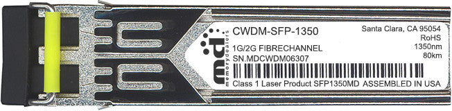 Cisco SFP Transceivers CWDM-SFP-1350 (100% Cisco Compatible) SFP Transceiver Module