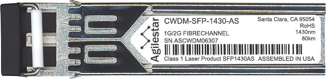 Cisco SFP Transceivers CWDM-SFP-1430-AS (Agilestar Original) SFP Transceiver Module