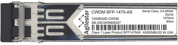 Cisco SFP Transceivers CWDM-SFP-1470-AS (Agilestar Original) SFP Transceiver Module