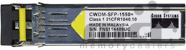 Cisco SFP Transceivers CWDM-SFP-1550 (Cisco Original) SFP Transceiver Module