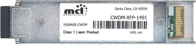 Cisco XFP Transceivers CWDM-XFP-1491-40KM (100% Cisco Compatible) XFP Transceiver Module