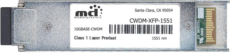 Cisco XFP Transceivers CWDM-XFP-1551-40KM (100% Cisco Compatible) XFP Transceiver Module