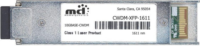 Cisco XFP Transceivers CWDM-XFP-1611-40KM (100% Cisco Compatible) XFP Transceiver Module