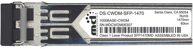 Cisco SFP Transceivers DS-CWDM-SFP-1470 (100% Cisco Compatible) SFP Transceiver Module