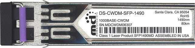 Cisco SFP Transceivers DS-CWDM-SFP-1490 (100% Cisco Compatible) SFP Transceiver Module
