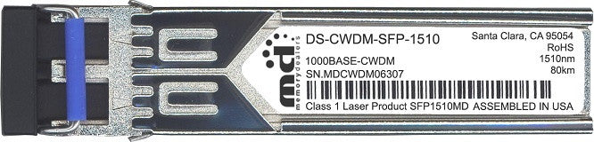 Cisco SFP Transceivers DS-CWDM-SFP-1510 (100% Cisco Compatible) SFP Transceiver Module