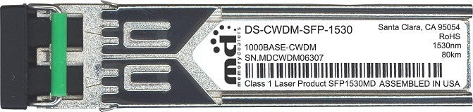 Cisco SFP Transceivers DS-CWDM-SFP-1530 (100% Cisco Compatible) SFP Transceiver Module
