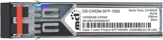 Cisco SFP Transceivers DS-CWDM-SFP-1590 (100% Cisco Compatible) SFP Transceiver Module