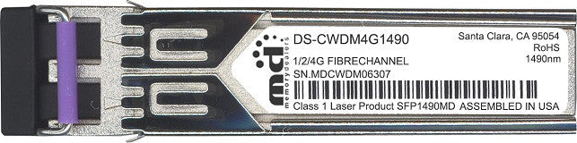 Cisco SFP Transceivers DS-CWDM4G1490 (100% Cisco Compatible) SFP Transceiver Module