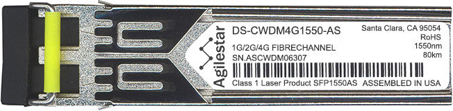 Cisco SFP Transceivers DS-CWDM4G1550-AS (Agilestar Original) SFP Transceiver Module
