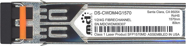 Cisco SFP Transceivers DS-CWDM4G1570 (100% Cisco Compatible) SFP Transceiver Module