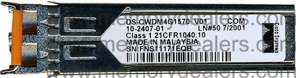 Cisco SFP Transceivers DS-CWDM4G1570 (Cisco Original) SFP Transceiver Module