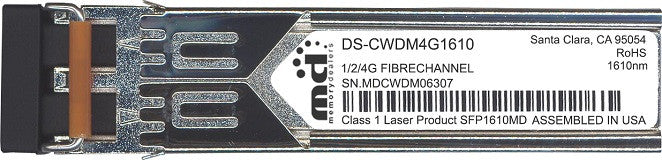 Cisco SFP Transceivers DS-CWDM4G1610 (100% Cisco Compatible) SFP Transceiver Module