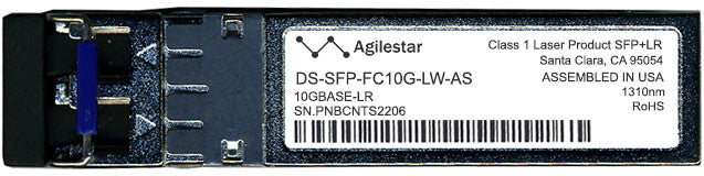 Cisco SFP+ Transceivers DS-SFP-FC10G-LW-AS (Agilestar Original) SFP+ Transceiver Module