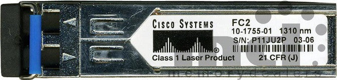 Cisco SFP Transceivers DS-SFP-FC2G-LW= (Cisco Original) SFP Transceiver Module