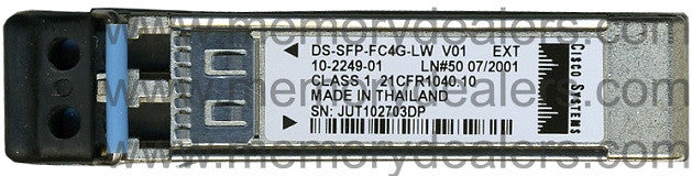 Cisco SFP Transceivers DS-SFP-FC4G-LW (Cisco Original) SFP Transceiver Module