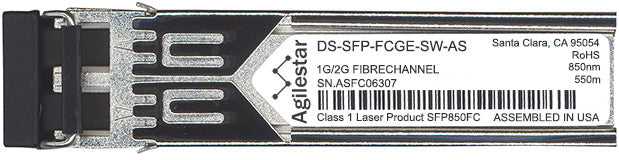 Cisco SFP Transceivers DS-SFP-FCGE-SW-AS (Agilestar Original) SFP Transceiver Module