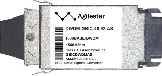 Cisco GBIC Transceivers DWDM-GBIC-46.92-AS (Agilestar Original) GBIC Transceiver Module