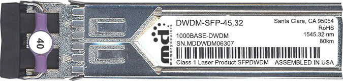 Cisco SFP Transceivers DWDM-SFP-45.32 (100% Cisco Compatible) SFP Transceiver Module