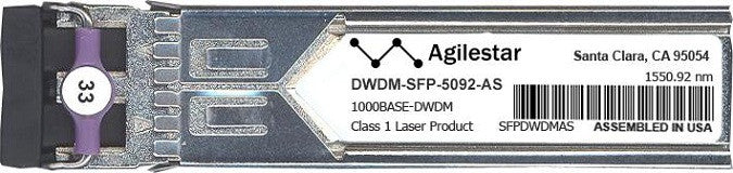 Cisco SFP Transceivers DWDM-SFP-50.92-AS (Agilestar Original) SFP Transceiver Module