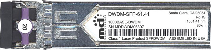 Cisco SFP Transceivers DWDM-SFP-61.42 (100% Cisco Compatible) SFP Transceiver Module