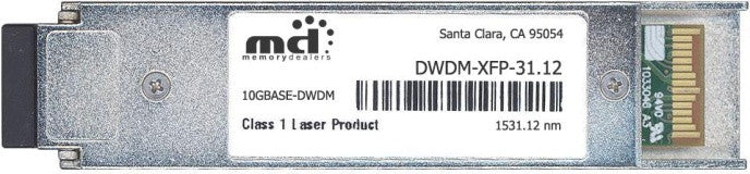 Cisco XFP Transceivers DWDM-XFP-31.12 (100% Cisco Compatible) XFP Transceiver Module
