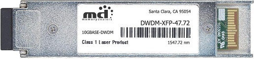 Cisco XFP Transceivers DWDM-XFP-47.72 (100% Cisco Compatible) XFP Transceiver Module