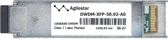 Cisco XFP Transceivers DWDM-XFP-50.92-AS (Agilestar Original) XFP Transceiver Module