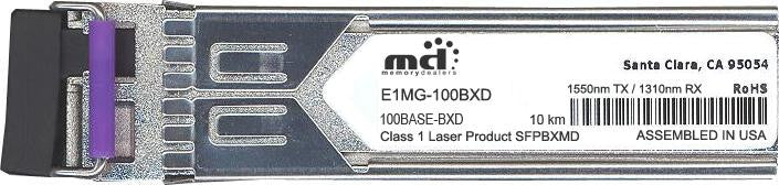 Foundry Networks E1MG-100BXD (100% Foundry Compatible) SFP Transceiver Module