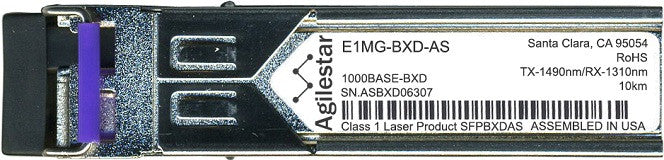 Foundry Networks E1MG-BXD-AS (Agilestar Original) SFP Transceiver Module