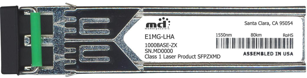 Foundry Networks E1MG-LHA (100% Foundry Compatible) SFP Transceiver Module