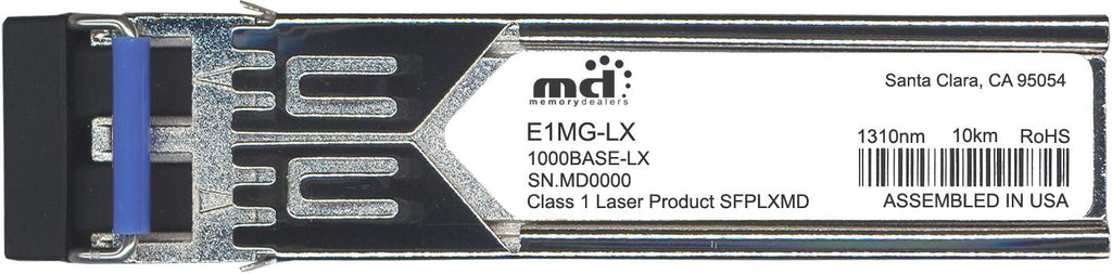 Foundry Networks E1MG-LX (100% Foundry Compatible) SFP Transceiver Module