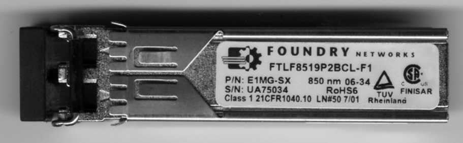 Foundry Networks E1MG-SX (Foundry Original) SFP Transceiver Module