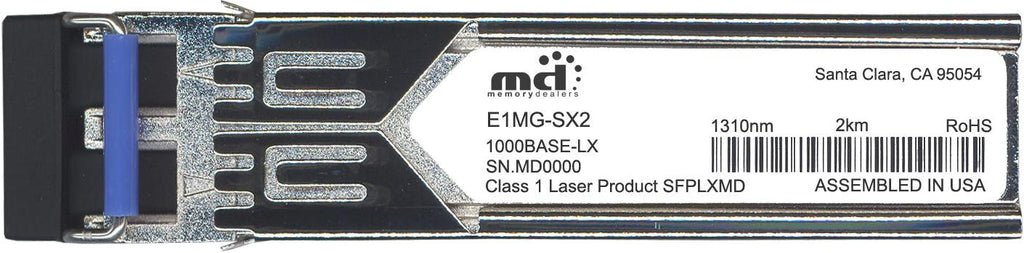 Foundry Networks E1MG-SX2 (100% Foundry Compatible) SFP Transceiver Module