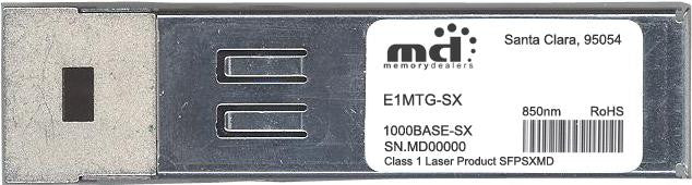 Foundry Networks E1MTG-SX (100% Foundry Compatible) SFP Transceiver Module