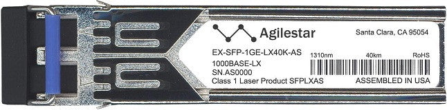 Juniper Networks EX-SFP-1GE-LX40K-AS (Agilestar Original) SFP Transceiver Module
