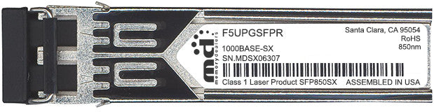 F5 Networks F5UPGSFPR (100% F5 Networks Compatible) SFP Transceiver Module