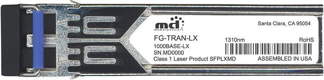 Fortinet FG-TRAN-LX (100% Fortinet Compatible) SFP Transceiver Module