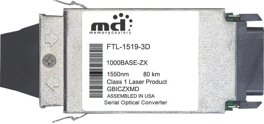 Finisar FTL-1519-3D (100% Finisar Compatible) GBIC Transceiver Module