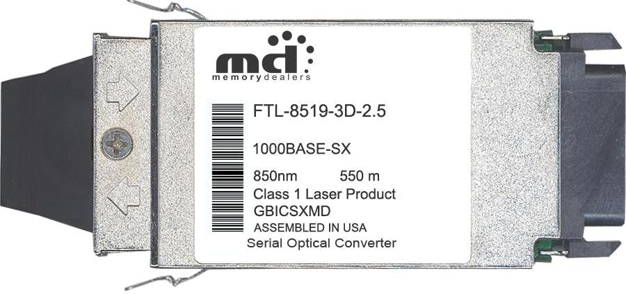 Finisar FTL-8519-3D-2.5 (100% Finisar Compatible) GBIC Transceiver Module
