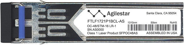 Finisar FTLF1721P1BCL-AS (Agilestar Original) SFP Transceiver Module