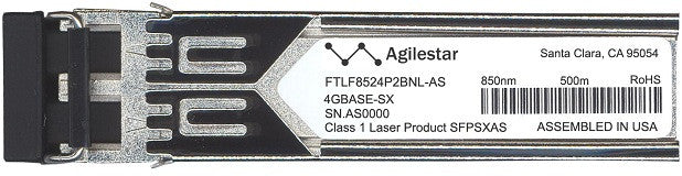 Finisar FTLF8524P2BNL-AS (Agilestar Original) SFP Transceiver Module
