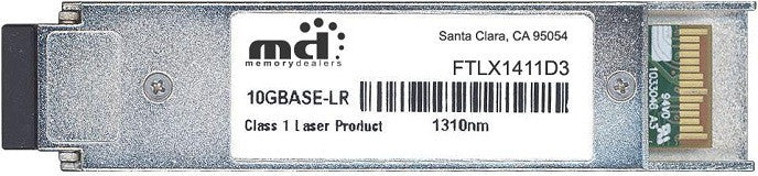 Finisar FTLX1411D3 (100% Finisar Compatible) XFP Transceiver Module