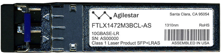 Finisar FTLX1472M3BCL-AS (Agilestar Original) SFP+ Transceiver Module