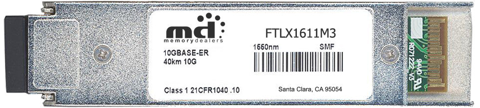 Finisar FTLX1611M3 (100% Finisar Compatible) XFP Transceiver Module