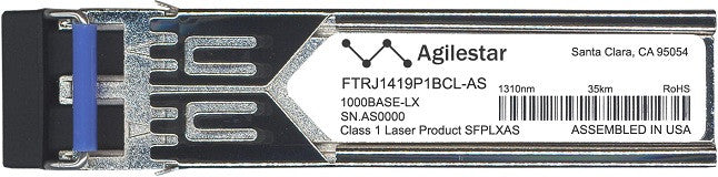 Finisar FTRJ1419P1BCL-AS (Agilestar Original) SFP Transceiver Module